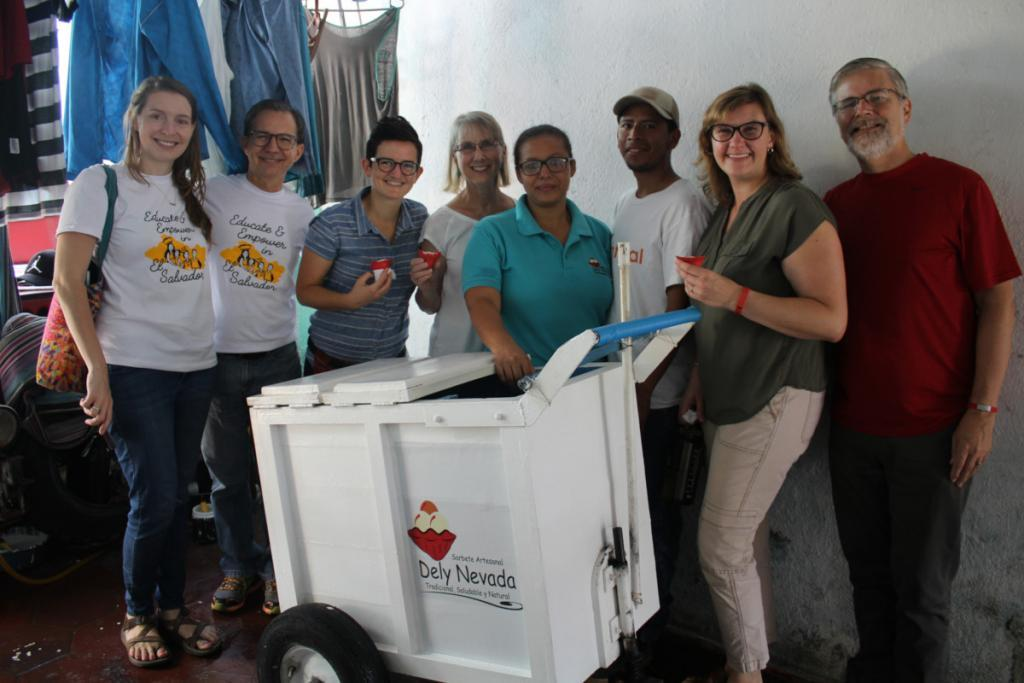 The Board in El Salvador: Jenn's reflection about her visit 1