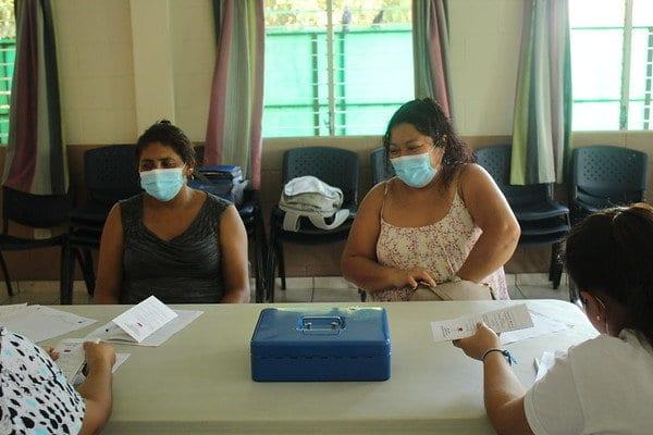 San Ramon self-saving group